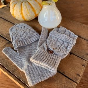 ✨CLAMSHELL FINGERLESS KNIT MITTEN/GLOVES✨